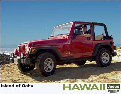 Jeep Rentals In Waikiki